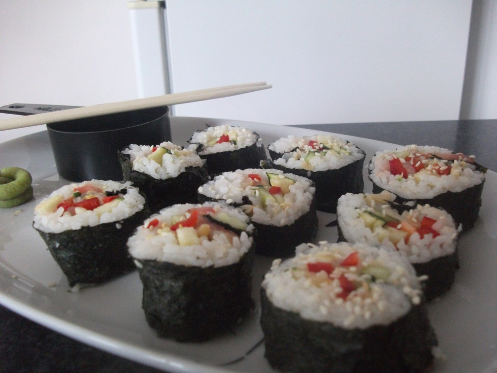 Vegan Nori Rolls Delicious For Lunch My Inspiration