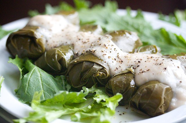Gluten Free Dolmades – Grape Leaves Stuffed with Quinoa ...
