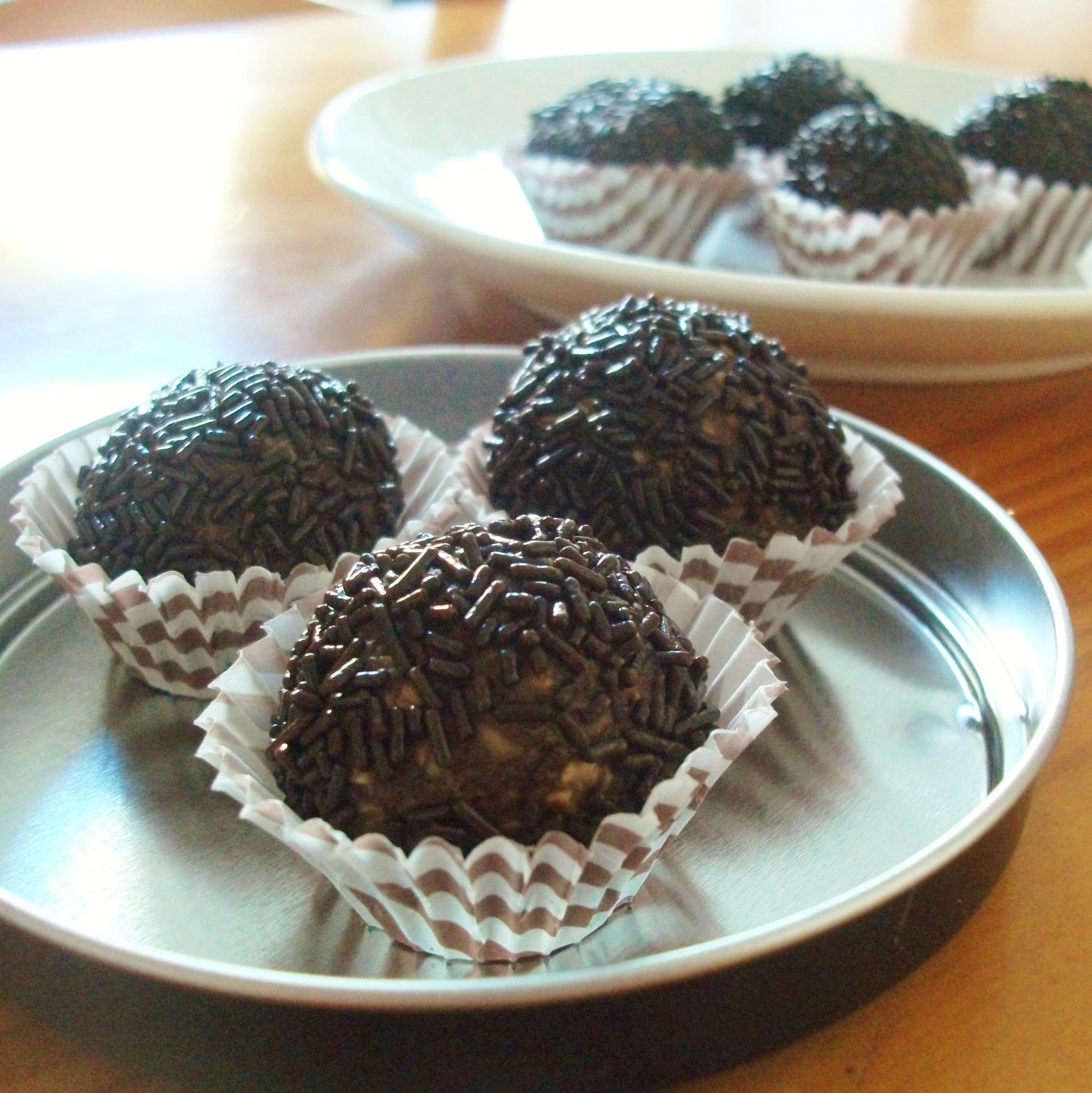 Chocolate-Brandy Balls Recipe — Dishmaps