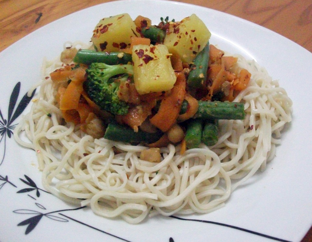 Sweet & Spicy Vegetable Stir Fry, a quick and easy recipe for this ...
