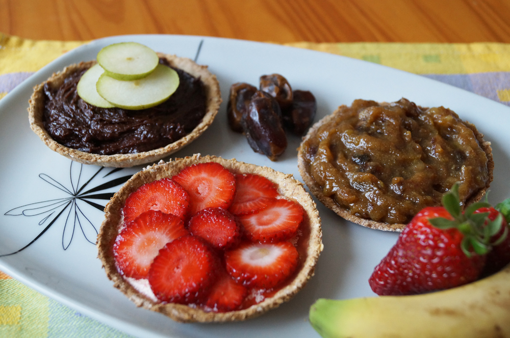 trio of tarts