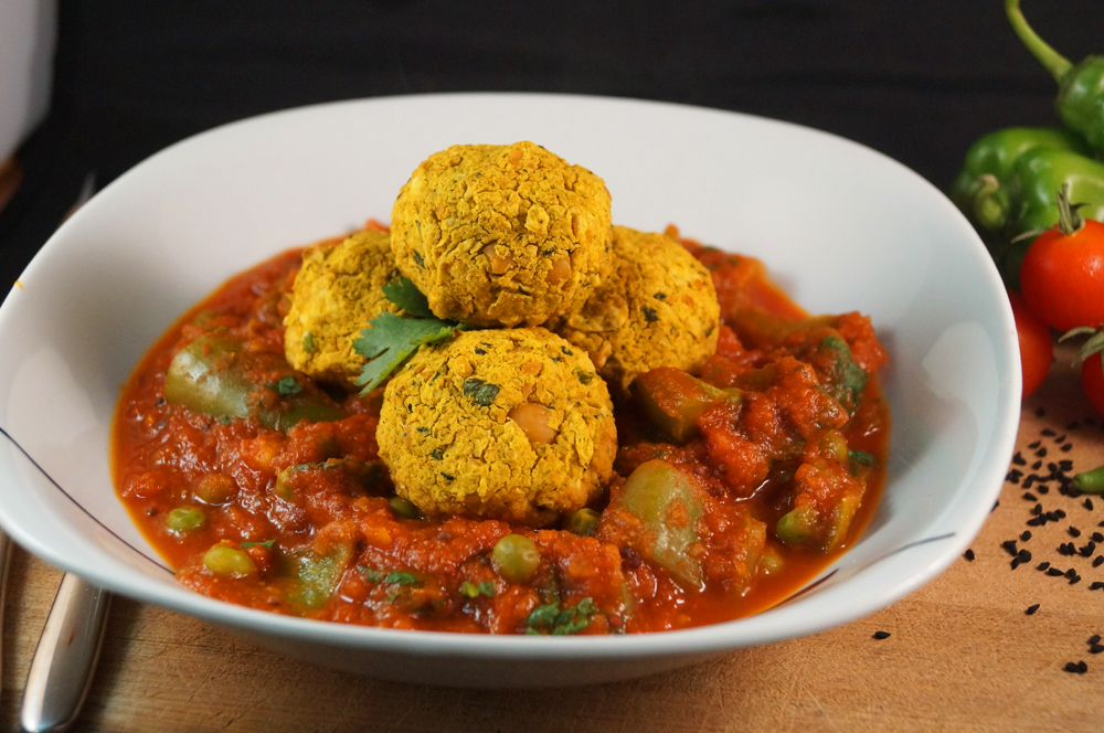 kofta and jalfrezi