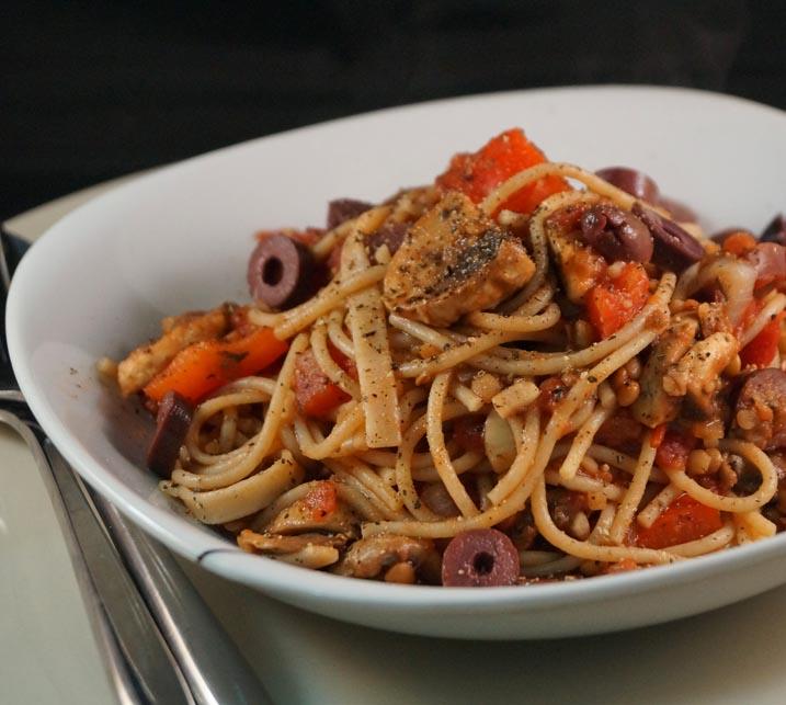 fg spicy veg bolognese