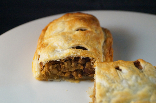 Lentil and Black Olive Pastry Slice, the ultimate comfort food.This Is ...