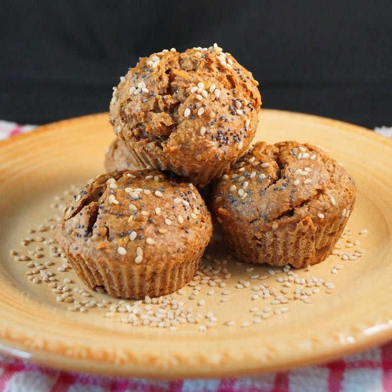Vanilla Carrot Cake Muffins sm