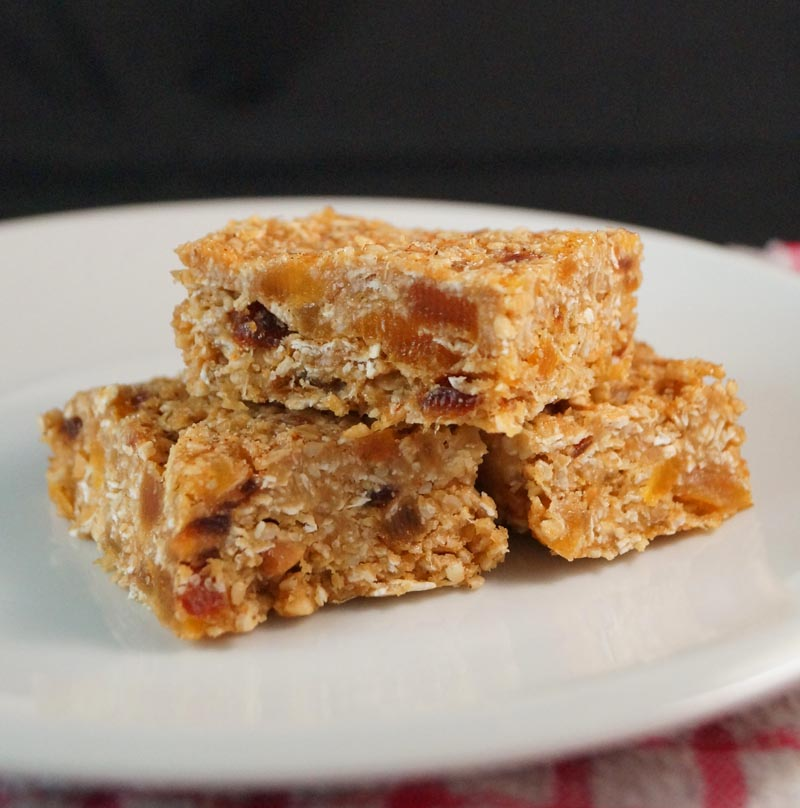 Apricot and Coconut Energy Bars csm