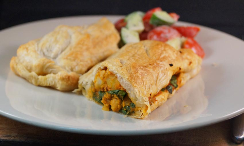 Curry Chickpea & Potato Pie  csm