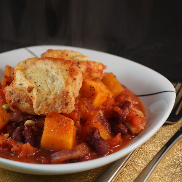 Winter Veg & Kidney Bean Stew with little Rosemary & Thyme Chickpea Dumplings smb copy