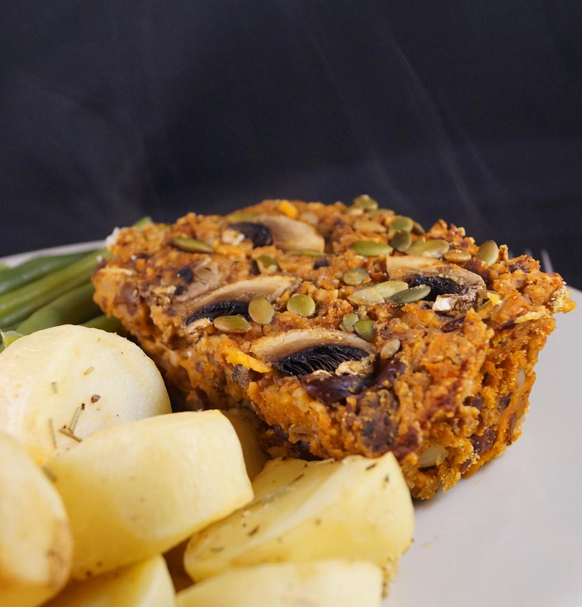 Veggie Nut Roast, great for a Family Dinner or Sunday LunchThis Is My ...