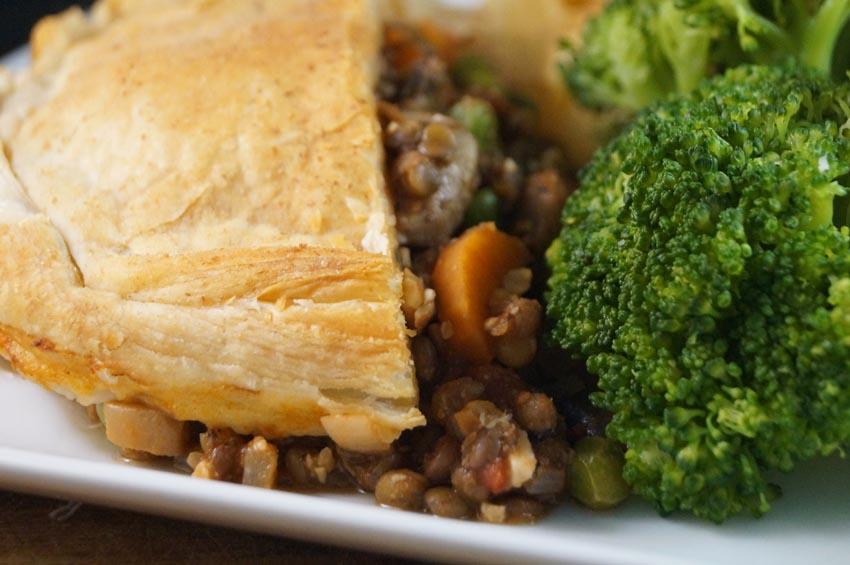 mushroom and lentil pie sm